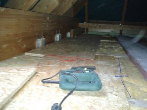 Dachausbau Fußboden Osb ~ Speicherboden mit osb platten ausbauen