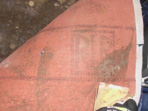 Relativ Bodenbelag unter dem Teppichboden Asbest ? OY52