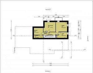 entwurf grundriss freistehendes efh mit staffelgeschoss teilkeller doppelgarage. Black Bedroom Furniture Sets. Home Design Ideas