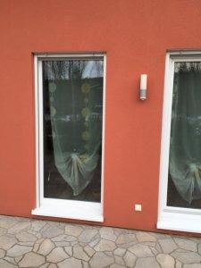 risse im putz in den fensterlaibungen holzst nderhaus mit wdvs. Black Bedroom Furniture Sets. Home Design Ideas