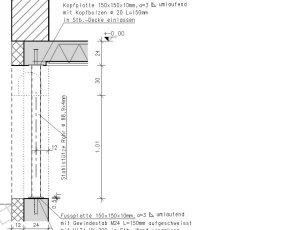 eckfenster mit stahlst tze. Black Bedroom Furniture Sets. Home Design Ideas