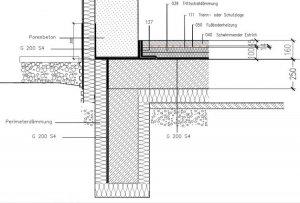 frostsch rze bodenplatte. Black Bedroom Furniture Sets. Home Design Ideas