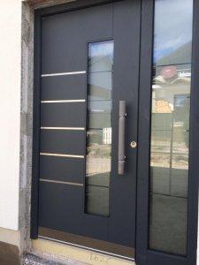 Haustüren einbauen  Unsere Haustür - Eure Meinung zum Einbau