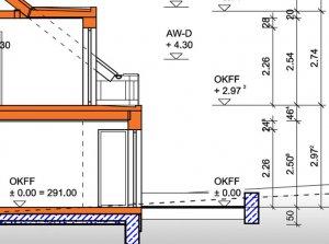 Mindestraumhöhe im Neubau