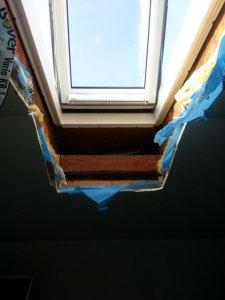 Velux dachfenster d mmen bzw mit rigips verkleiden - Dachfenster innenfutter rigips ...