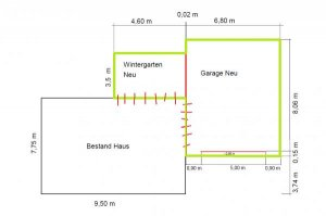 Tiefbau Streifenfundament Bodenplatte Fur Garage Und Wintergarten