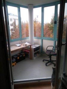 Verglasten Balkon Isolieren