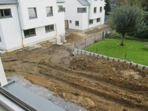 L steine ohne drainage gesetzt und abgedichtet wie ein schwimmingpool - Drainage garten lehmboden ...