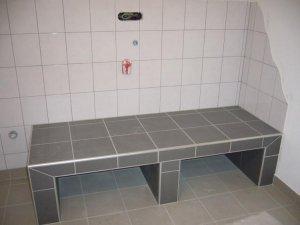 Sockel für waschmaschine trockner auf bodenplatte oder estrich