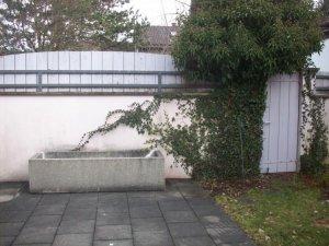 Wassertrog Aus Beton