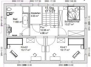 grundriss efh 2 dach 11 x 8 m. Black Bedroom Furniture Sets. Home Design Ideas