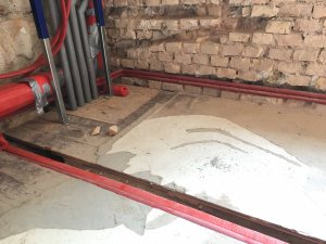 Bodenaufbau Fur Badezimmer Holzdielen