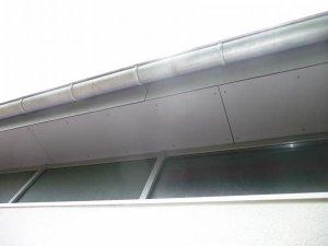 verkleiden von dach berstand dachkasten. Black Bedroom Furniture Sets. Home Design Ideas