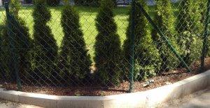 Gartenzaun Eckgrundstuck Optisch Nicht Einwandfrei