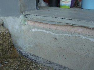 garageneinfahrt anschluss estrich zu pflaster kies herstellen. Black Bedroom Furniture Sets. Home Design Ideas