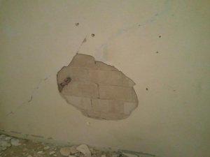 Wohnungsrenovierung Putz Fällt Von Der Wand Hinnehmbar