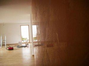 venezianische spachteltechnik putz dr ber tapezieren. Black Bedroom Furniture Sets. Home Design Ideas