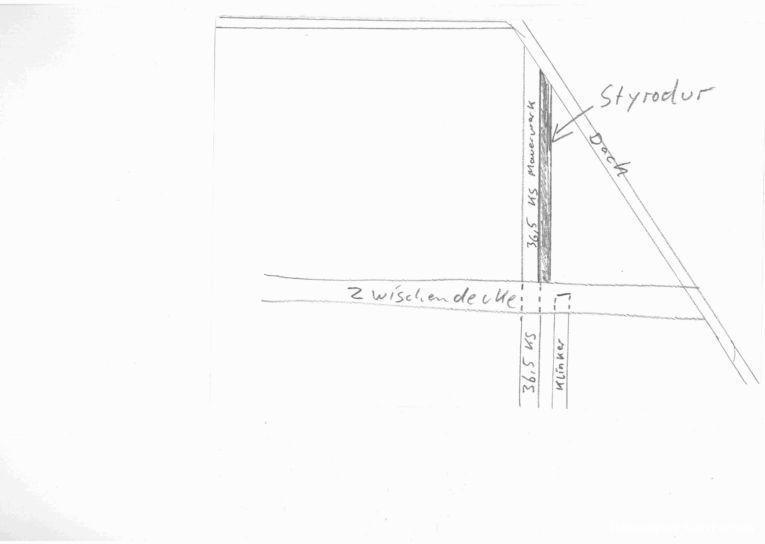 Top Aussenwand mit Styrodur verkleben SZ36