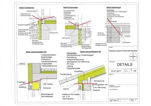 Extrem Detailzeichnungen mit Wärmebrücken? EG07