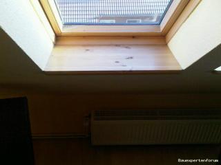 Velux Fenster im DG sehr nass...