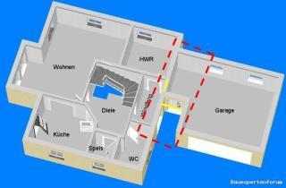 Sehr Verbindung Garage mit Haus QT83