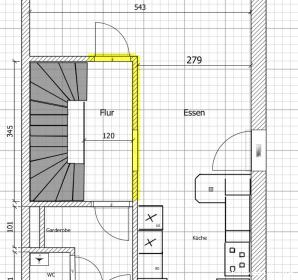 Top Treppe offen oder abgetrennt vom Wohnraum MW07