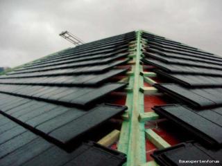 Sehr Walm-Dach mit Braas Turmalin - muss das so aussehen? WH77